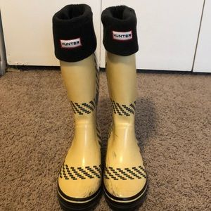 Kate spade rain boots with Hunter liners
